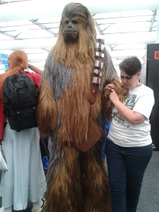Chewbacca at Oz Comic Con