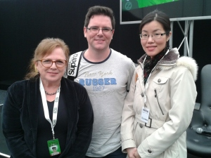 Kylie Chan, Queenie Chan and David J Delaney